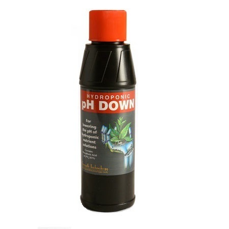 Growth Technology pH Down Acid (81%) 1itre - pH and EC Solutions