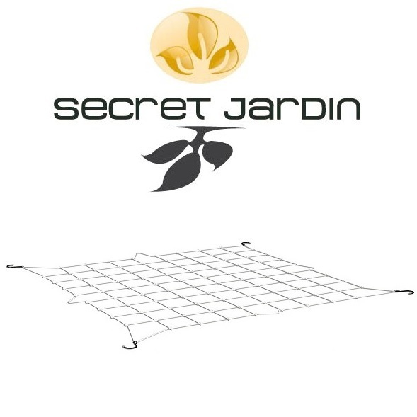 Secret Jardin WebIT Plant Support Net - 120cm x 120cm  - Miscellaneous