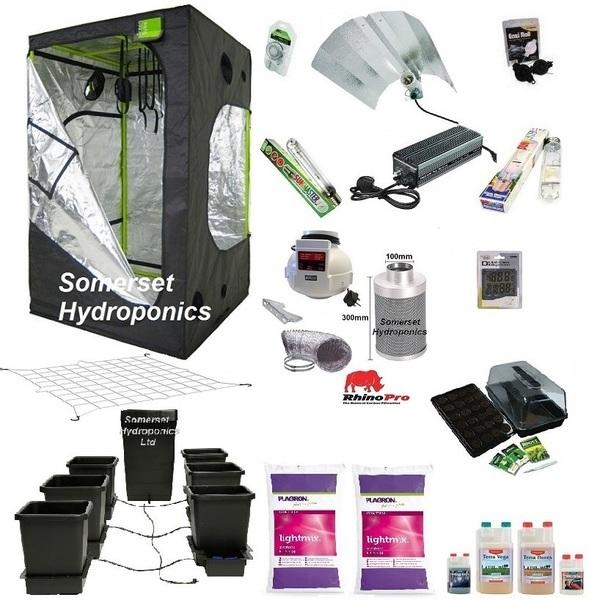 Autopot 6 Pot Grow Kit - GQ120L - Hydroponic & Soil Growing Kits