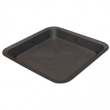 Square Pot Saucer 11Ltr - 25cm x 25cm - Pots, Tanks & Trays