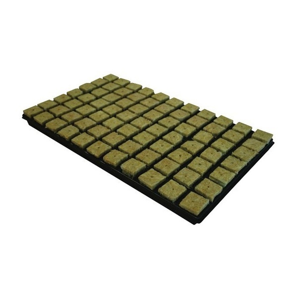 Grodan Rockwool SBS Seedling Plugs  35x35x40mm - Rockwool Cubes & Slabs