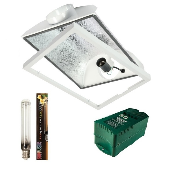 Pro Compact 125mm Air-cooled Supernova 600w - Air Cooled Grow Lights