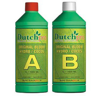 Dutch Pro Original Bloom Hydro/Coco A+B Hard Water 5 Litre - Bloom