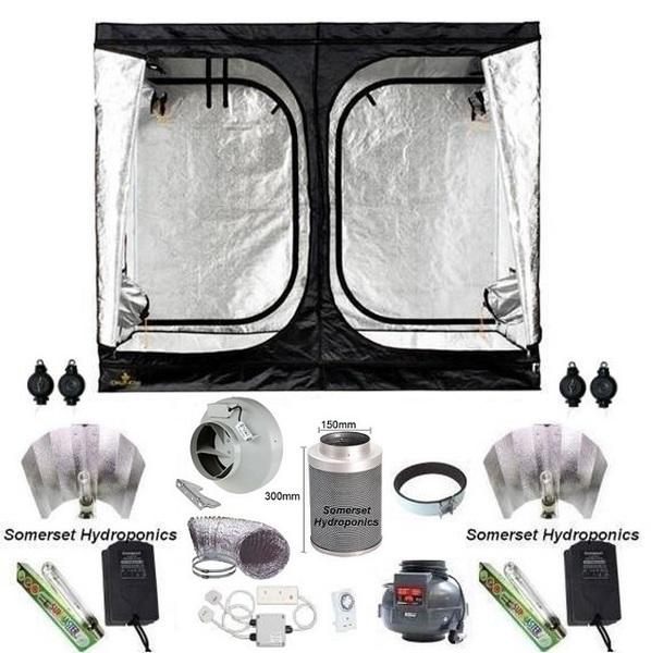 secret jardin dr240w grow tent kit