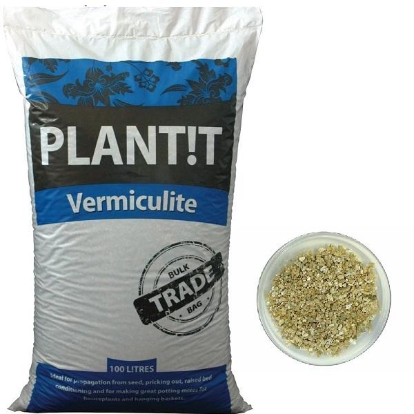 PLANT!T Vermiculite 10ltr - Clay Pebbles, Perlite etc