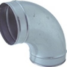 90 Degree Elbow 200mm - Ventilation Accessories