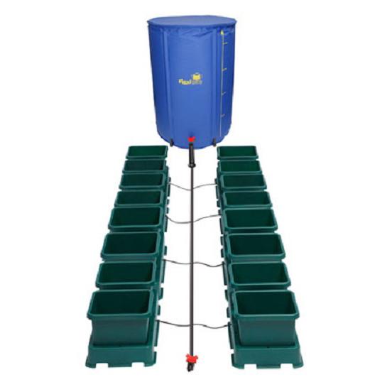 Easy2Grow 16 Pot Kit With 225L Flexitank - Autopot Growing Systems