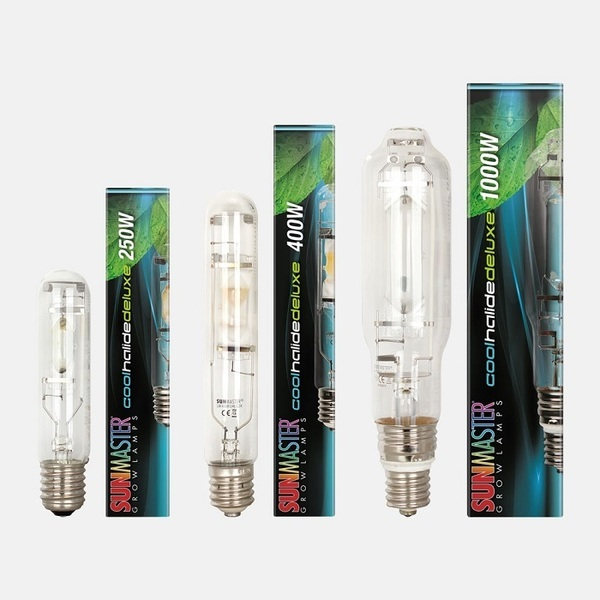 Sunmaster Cool Halide Deluxe Lamp - Metal Halide (MH) Bulbs