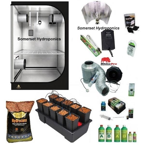 Wilma10 Pebble Dripper Grow Kit - Hard Water - Hydroponic & Soil Growing Kits