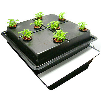 Amazon 8 Pot Aeroponic System - Large Hole 80mm - Aeroponic Growing Systems